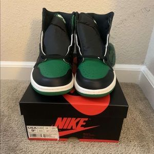 Air Jordan 1 og pine green air and og shadow